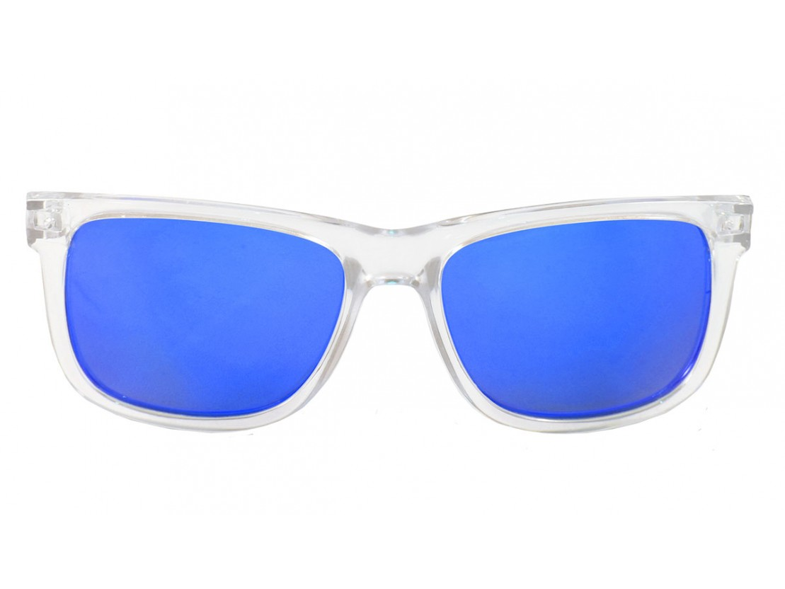 Gafas de sol polarizadas Casual Transparent Blue | Lo&Lo
