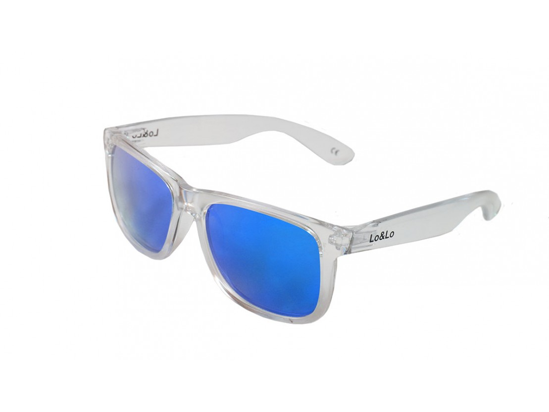 Gafas de sol Bela Transparent Blue
