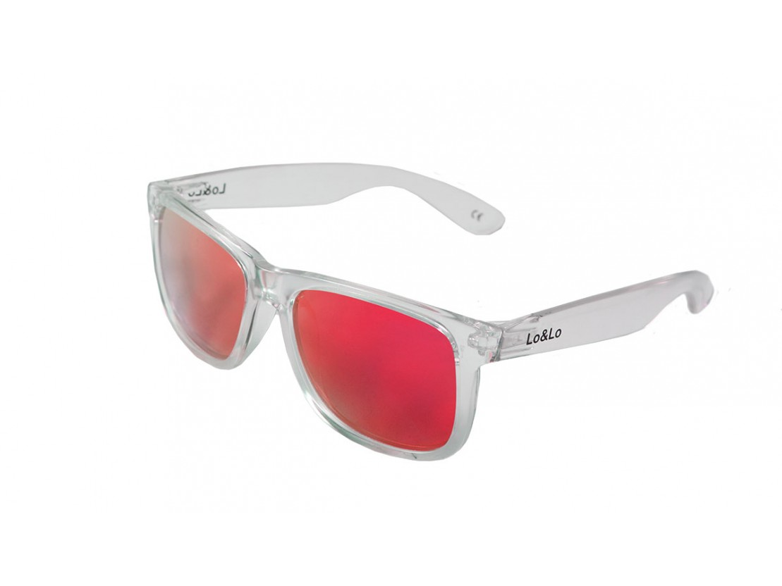 Gafas de sol Bela Casual Transparent Red
