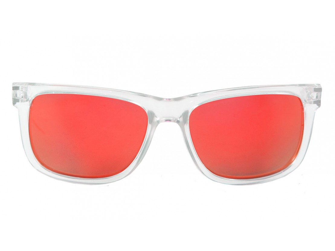 Gafas de sol polarizadas Casual Transparent Red  | Lo&Lo