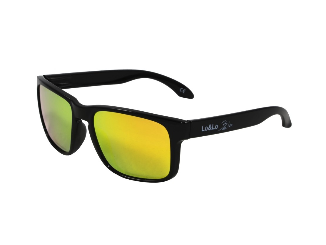 Gafas de sol Bela Black Orange